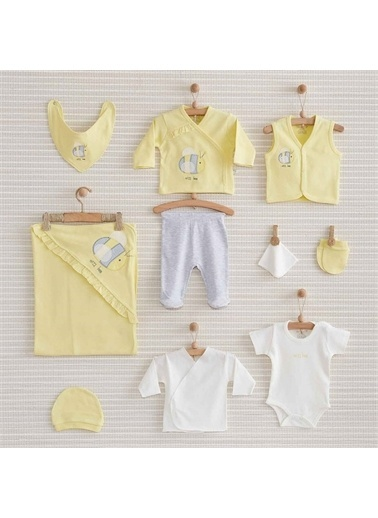 Nenny Baby Nenny Baby Bee 10'Lu Bebek Hastane Çıkış Seti 144 Sarı